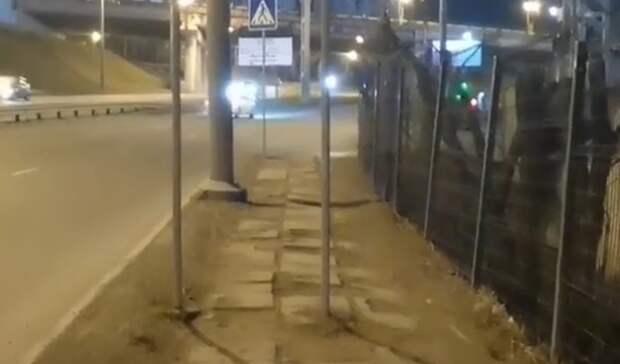 «Как так можно»: дорожный знак внеудачном месте возмутил жителей Владивостока
