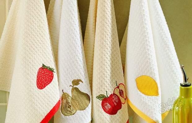 Делаем кухонные полотенца снова свежими и чистыми