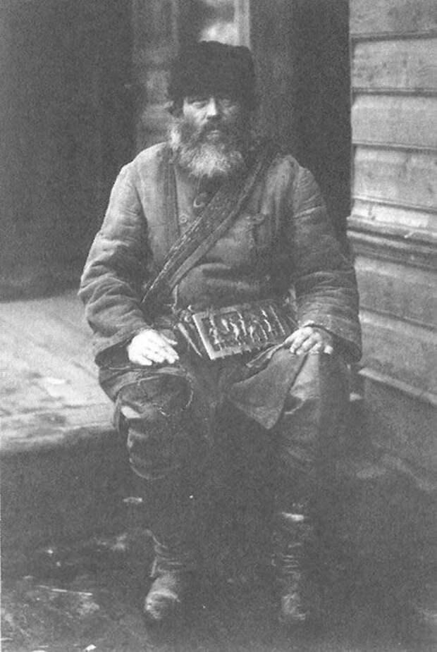 Коновал. Костромская губерния, Солигаличский уезд, 1914 год Крестьяне, россия, старые фото
