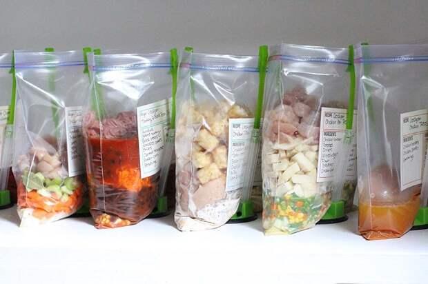Подготовьте ингредиенты для будущих блюд. / Фото: nobiggie.net