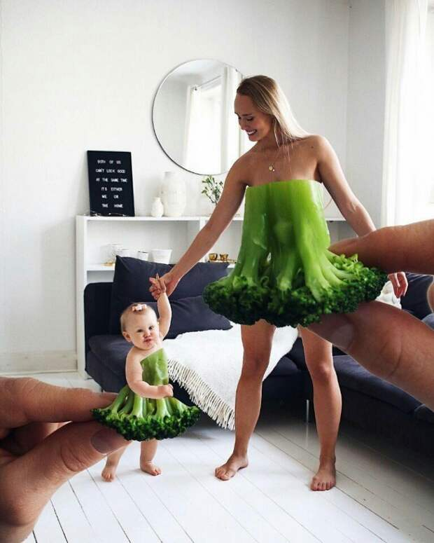 Семейные фото  с малышами (подборка и́дей)