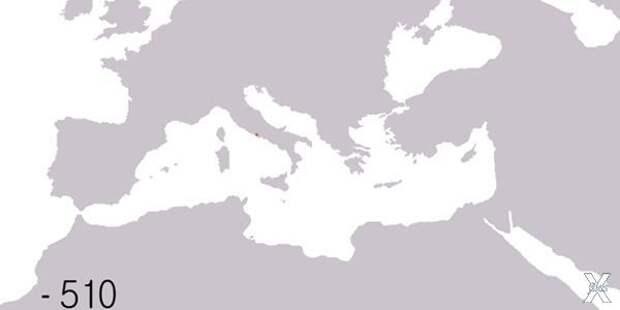 Римская империя в разные периоды суще...