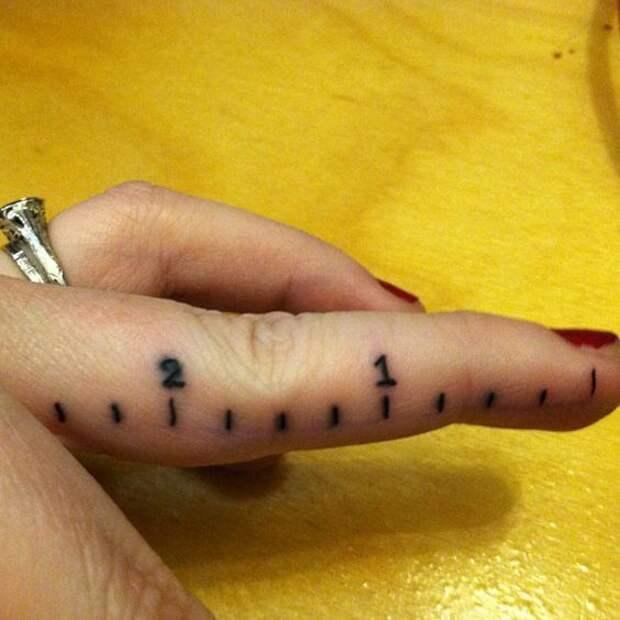 Татуировки для рукодельниц (трафик)