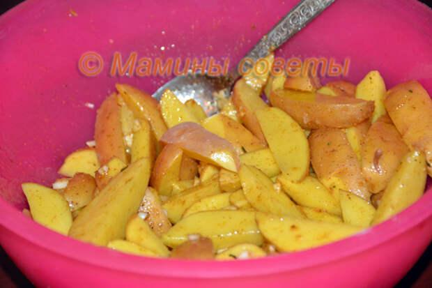 Это самая вкусная картошка, готовлю очень часто!