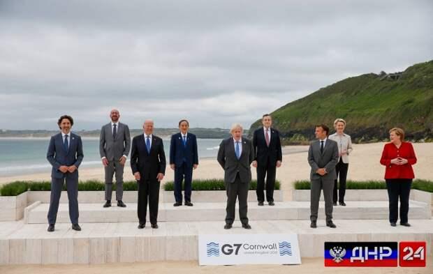 G7 выпустила итоговое коммюнике по Донбассу