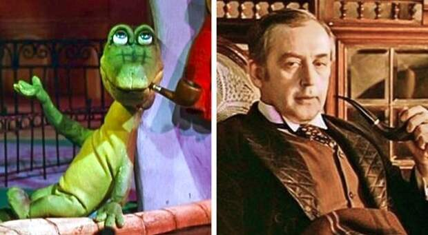 Прообразы знаменитых персонажей из советских мультиков