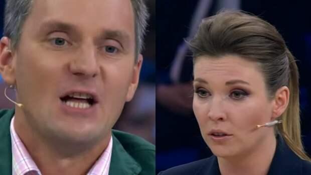 Скабеева иронично отреагировала на истерику поляка Корейбы в эфире