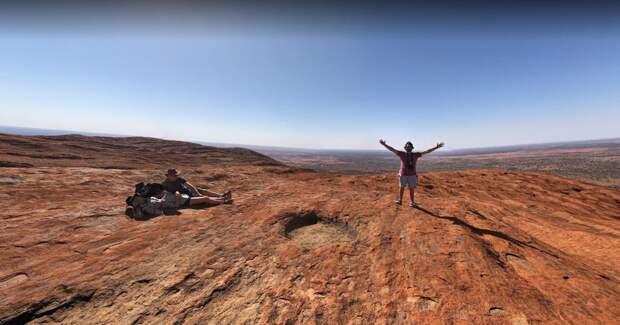 Фотографии скалы Улуру удалят из Google Street View по просьбе австралийских аборигенов