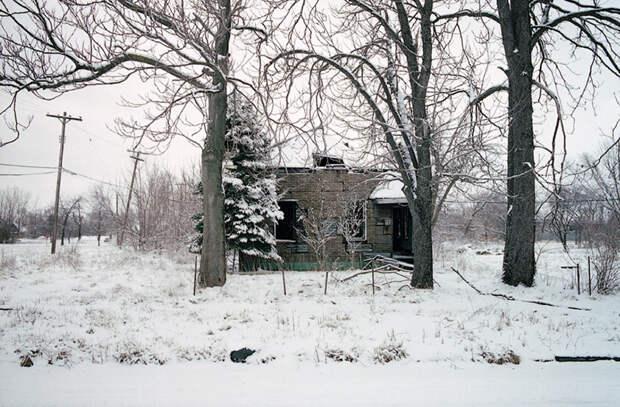 Ночуем зимой на улице