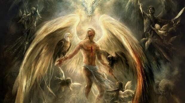 Архангел Чамуил - архангел любви, молитва архангелу Чамуилу о любви