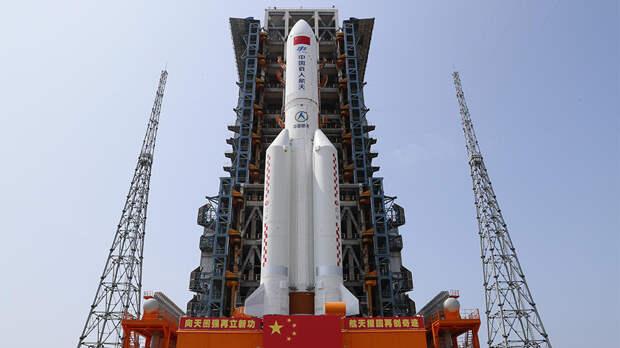 Роскосмос назвал место возможного падения китайской ракеты