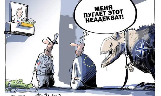 Ударим по путинскому тоталитаризму нашей демократической еврологикой!
