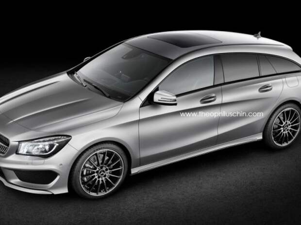 Mercedes-Benz С 450 AMG Sport и CLA-универсал дебютируют в Детройте
