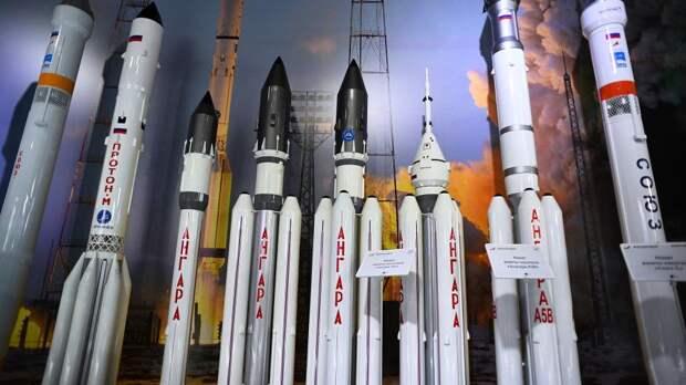 Макеты ракет-носителей