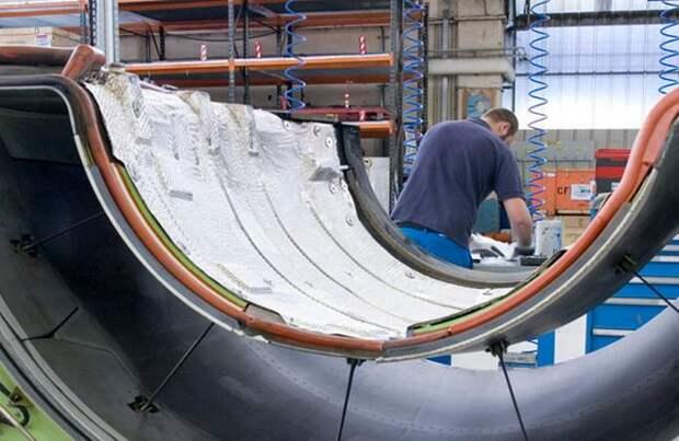Ремонт мотогондолы для двигателя CFM56