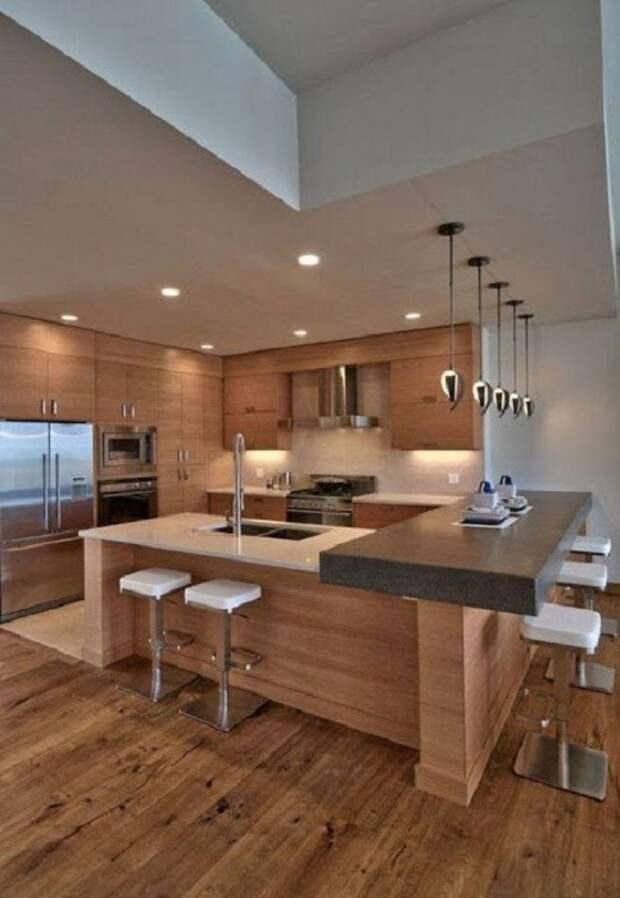 Крутое решение создать кухню в современных тенденциях, что вдохновит и создаст особенный стиль и шарм на ней.