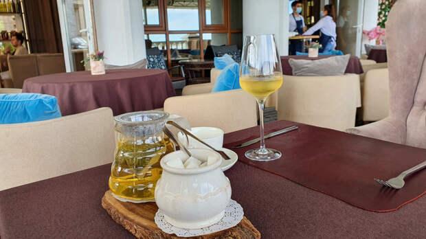 Зеленый чай. Ресторан Гарни Онегин Волгоград