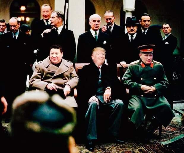 «Большая тройка» возвращается в мировую политику
