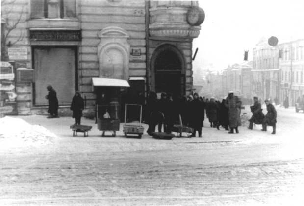 Московский проспект в оккупированном Харькове