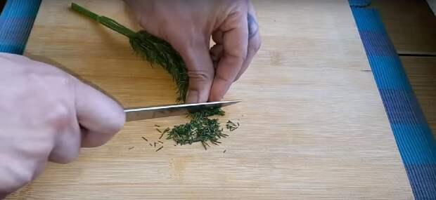 мариноаванный лук