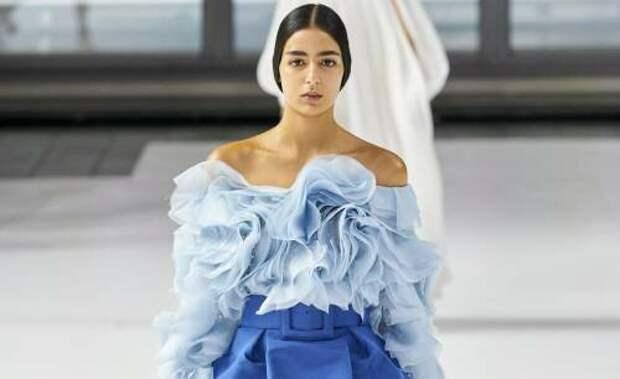 Небесно-голубой. Модный тренд 2021 года