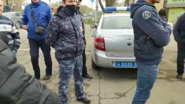 Силовики заблокировали рынок вРостовской области