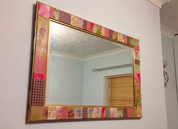 Оригинальная рама для зеркала