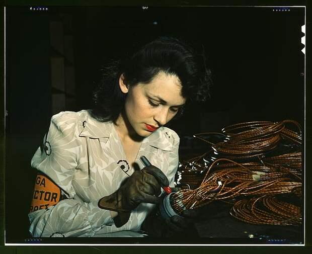 Американские рабочие 40-ых годов.