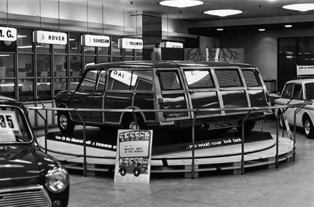 Как выглядели шоу-румы автосалонов много лет назад