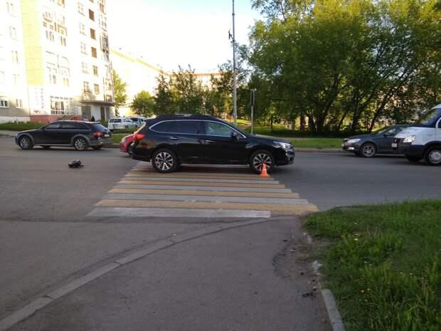 10-летнего мальчика сбили на пешеходном переходе в Ижевске