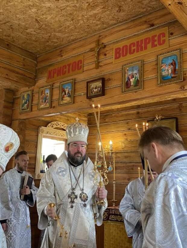 На территории Весновского дома-интерната открыли и освятили церковь в честь святого Патрикия.