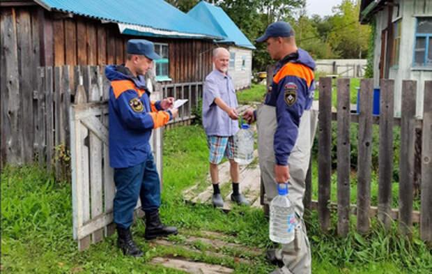 В Тулуне ввели режим повышенной готовности из-за угрозы подтопления