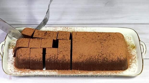 Молочно шоколадный десерт
