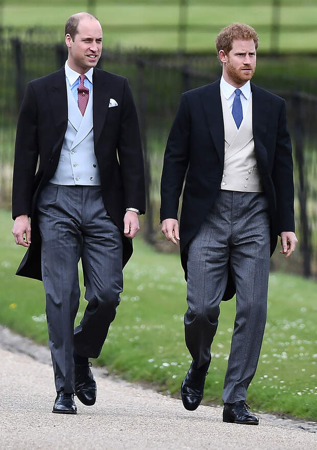 Принцы Уильям и Гарри не будут идти рядом на похоронах принца Филиппа