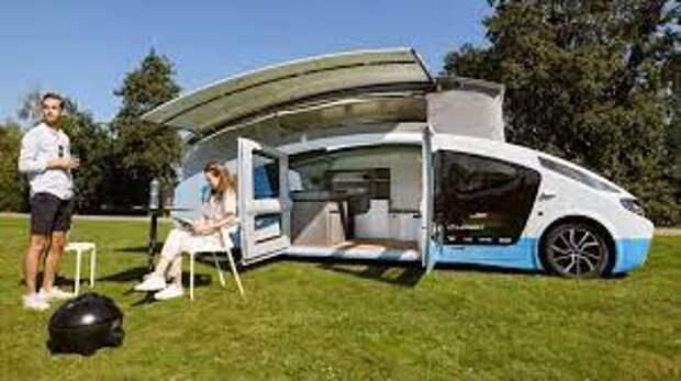 Представлен солнечный дом на колесах