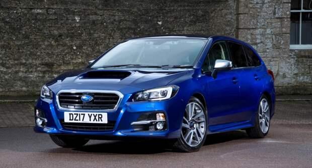 Subaru Levorg — универсальный «спортсмен»