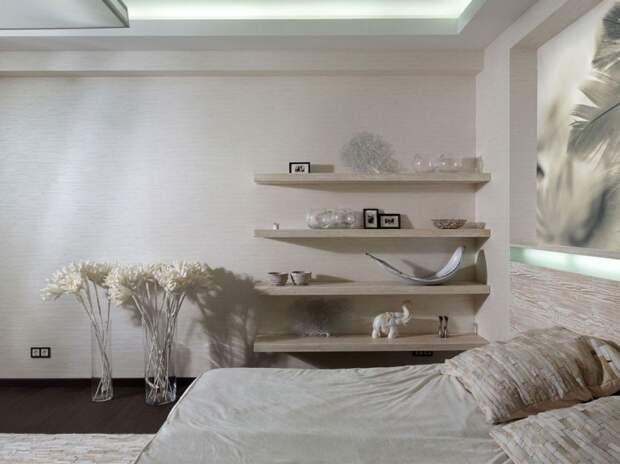 Необычное хранение в спальне (идеи)