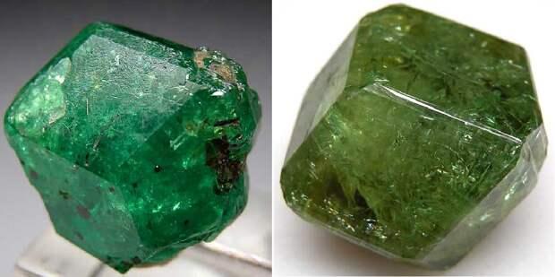 Камень тсаворит или цаворит