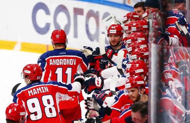 ЦСКА обыграл «Амур» и в десятый раз подряд вышел в плей-офф КХЛ