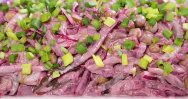 Этот салат не просто удивил, он ошеломил. Королевский салат со свеклой и мясом