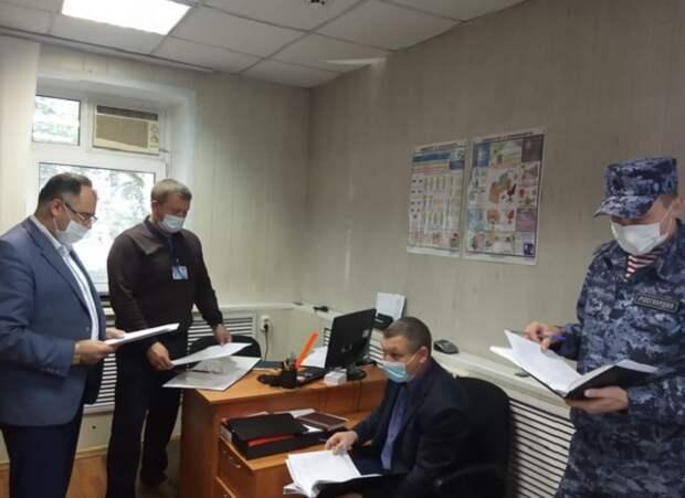 В Саранске проверили антитеррористическую защищенность торгового комплекса «Ринг»