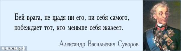 «Суворов никогда не имел при себе ни экипажа, ни кровати, ни даже лошади»