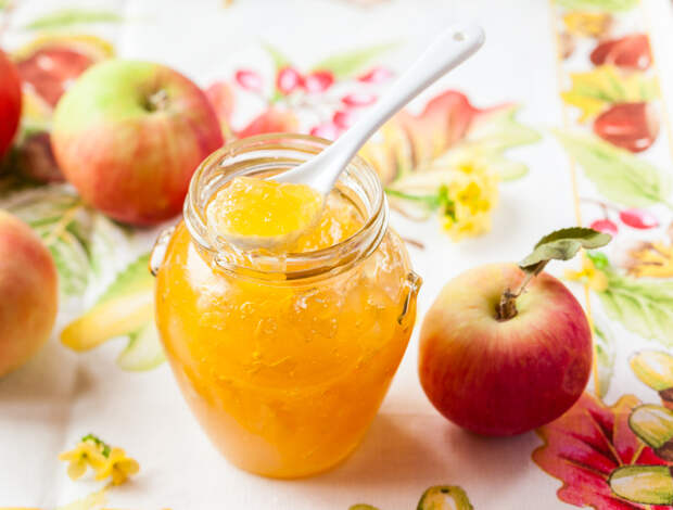 Яблочный мармелад