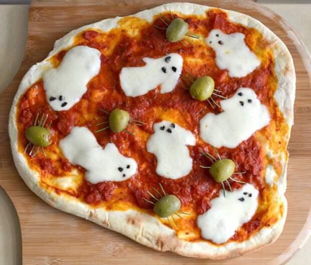 Пицца на Хеллоуин