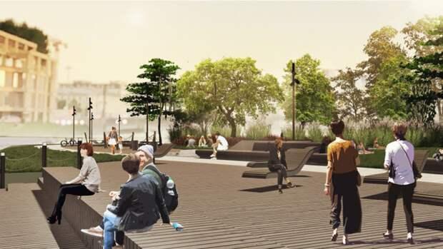 Работы по благоустройству набережной Карповки в Петербурге начнутся в 2022 году