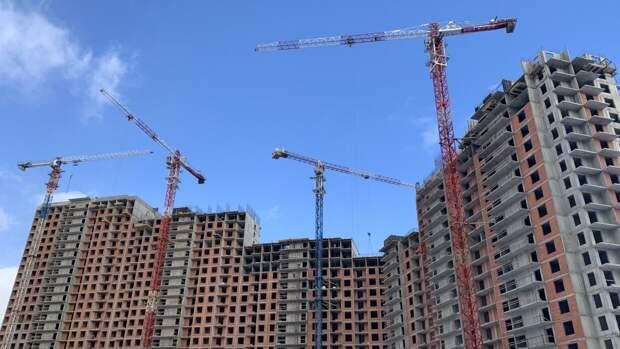 Объем поступившего в продажу жилья в Москве вырос на 26%