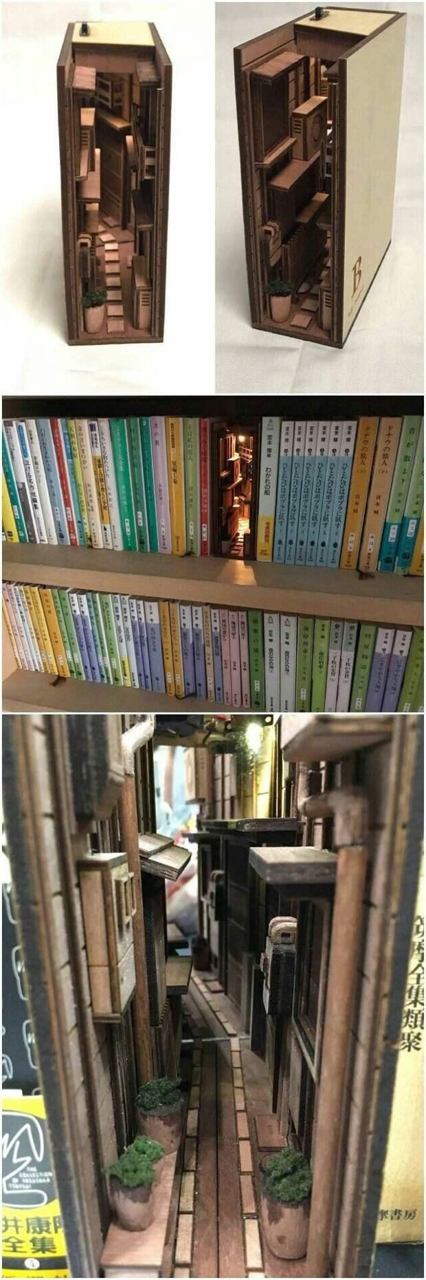 Подсветка книжного шкафа