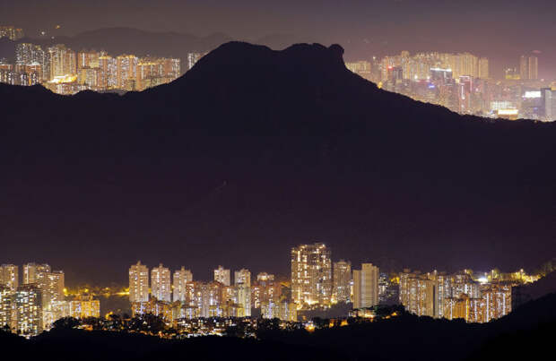 Победитель в категории «города и природа»: Мой дом - мой город. Автор: Wong Tai Sin, Китай.