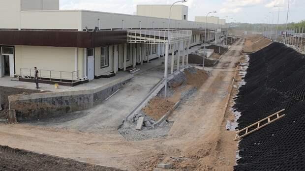 Строительство проблемной инфекционной больницы вРостове-на-Дону почти завершено