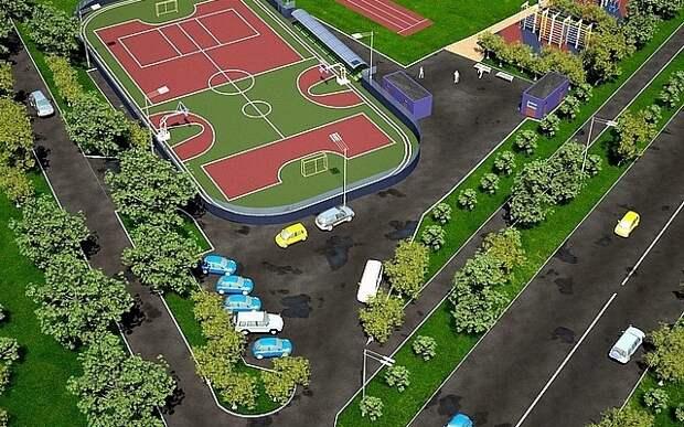 В Фокино появится универсальная спортплощадка
